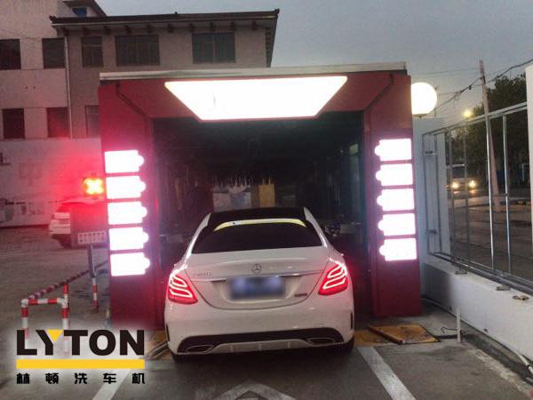 常前黄中石化加油站增设南京洗车机FX-11系列